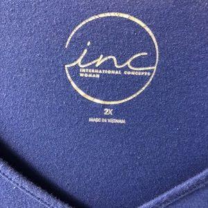 INC International Concepts Tops - *Final Price* INC Plus Size Women's Top
